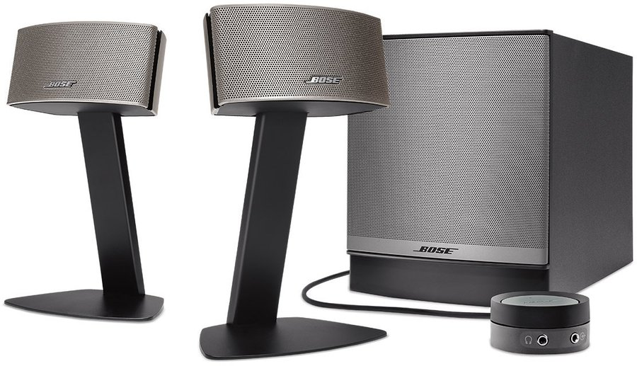 bose companion 50 2 1 pc lautsprechersystem tests. Black Bedroom Furniture Sets. Home Design Ideas