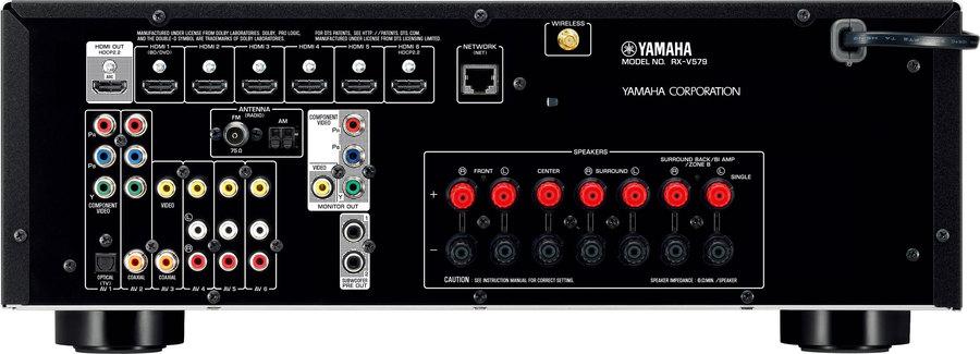 yamaha rx v579 av receiver tests erfahrungen im hifi forum. Black Bedroom Furniture Sets. Home Design Ideas