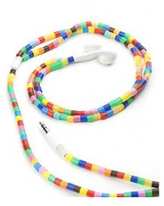 Produktfoto Kikkerland US90 Earbuds Multi Color TUBE Beads