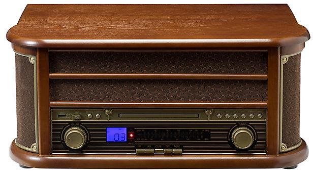 Weltbild verlag 5572011 retro radio cd kompaktanlage for Verlag weltbild