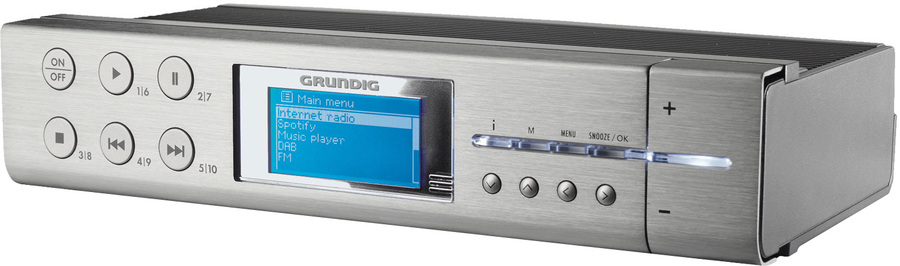 Grundig Sonoclock 895 WEB DAB+ Internetradio: Tests ...