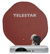 Produktfoto Telestar Teledigi 4 S + Alurapid 45 Single
