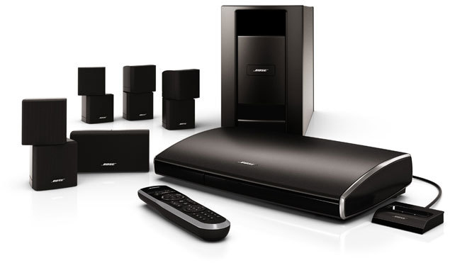 bose lifestyle v25 surround lautsprechersystem tests. Black Bedroom Furniture Sets. Home Design Ideas