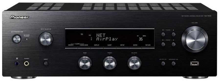 pioneer sx n30 dab stereo receiver tests erfahrungen im. Black Bedroom Furniture Sets. Home Design Ideas