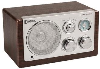 Produktfoto König Electronic Retro HAV-TR1000
