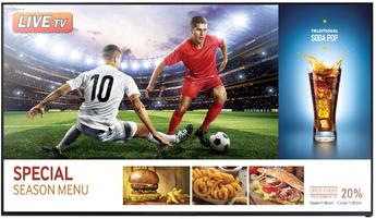Produktfoto Samsung LH55RHEELGW
