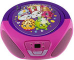 Produktfoto Sakar Shopkins CD-Boombox FM/AM Radio Station