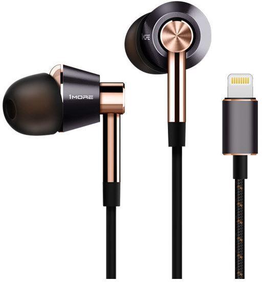 Produktbild 1more triple-driver-in-ear-lightning-e1001l