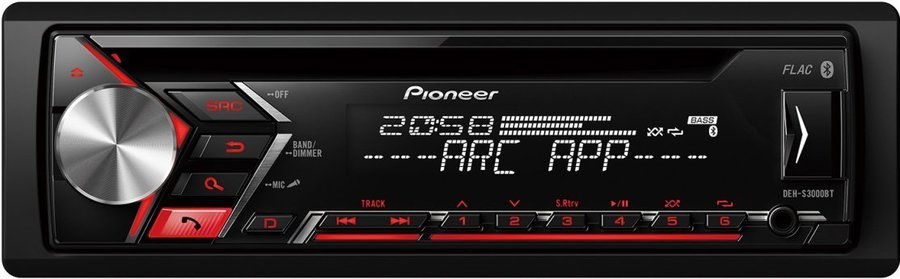 Pioneer DEH-S3000BT Autoradio: Tests & Erfahrungen im HIFI-FORUM