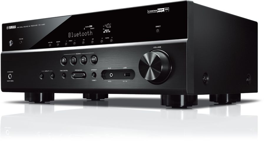 yamaha rx v485 av receiver tests erfahrungen im hifi forum. Black Bedroom Furniture Sets. Home Design Ideas