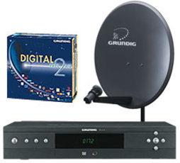 Produktfoto Grundig DTP 6000S (DTR6000S STA32 )