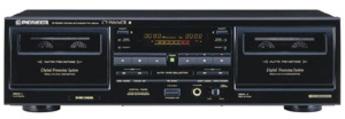 Produktfoto Pioneer CT-W 606DR