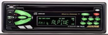 Produktfoto Alpine CDE 7853 R
