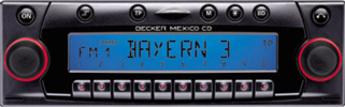 Produktfoto Becker Mexico CD 7803