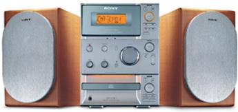 Produktfoto Sony CMT-CP 101