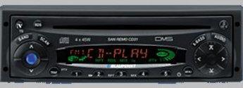 Produktfoto Blaupunkt SAN REMO CD 32