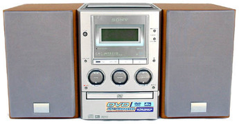 Produktfoto Sony CMT-M 90 DVD