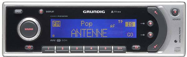 grundig scd 5410 allixx dab autoradio tests erfahrungen. Black Bedroom Furniture Sets. Home Design Ideas