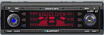 Produktfoto Blaupunkt Toronto MP 73