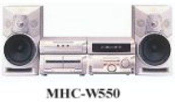 Produktfoto Sony MHC-W 555