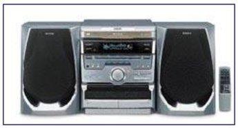 Produktfoto Sony MHC-RXD 3