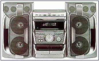 Produktfoto Sony MHC-RXD 9