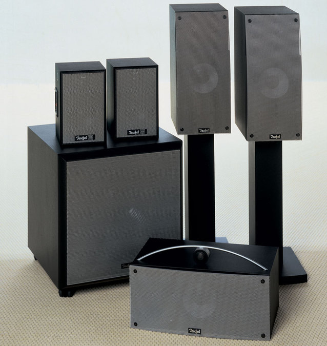 teufel theater 2 surround lautsprechersystem tests. Black Bedroom Furniture Sets. Home Design Ideas