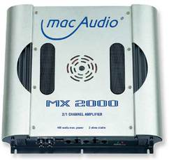 Produktfoto Mac Audio MX 2000