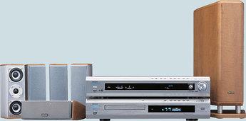 Produktfoto Denon RDV 775 SD AVR/DVD 770