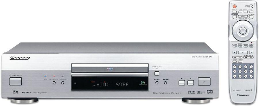 pioneer dv 668 av dvd player tests erfahrungen im hifi. Black Bedroom Furniture Sets. Home Design Ideas