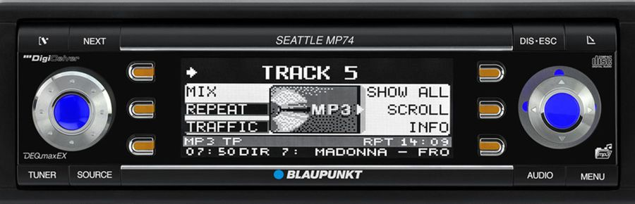 Blaupunkt Seattle MP 74