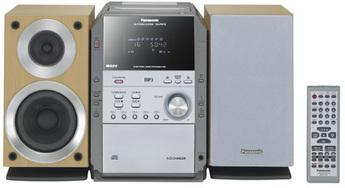 Produktfoto Panasonic SC-PM19EG-S