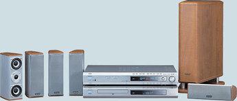 Produktfoto Denon DHT 550 SD AVR/DVD