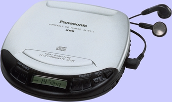Produktfoto Panasonic SL-S113EG-S
