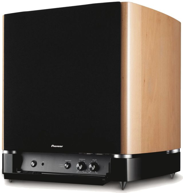 pioneer s w 250 subwoofer aktiv tests erfahrungen im. Black Bedroom Furniture Sets. Home Design Ideas