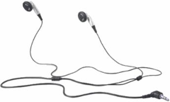 Produktfoto Belkin HP IPAQ Earbud Style Stereo HEAD SET
