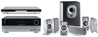 Produktfoto Harman-Kardon Cinesix (AVR 135/DVD 22/JBL SCS 200.6)