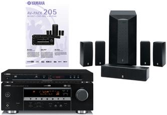 Produktfoto Yamaha AV-PACK 205 (RX-V357/DVD-S657/NS-P240)