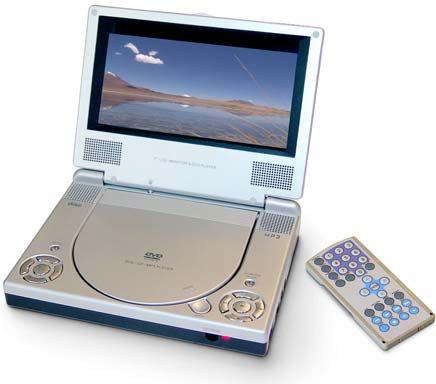 united dvp 6037 tragbarer dvd player tests erfahrungen. Black Bedroom Furniture Sets. Home Design Ideas