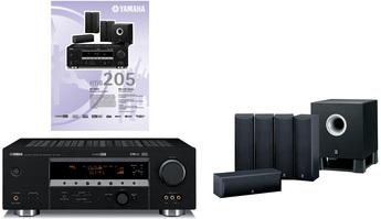 Produktfoto Yamaha HTIB 205 (RX-V457/NS-C125/NS-M125/YST-SW011)
