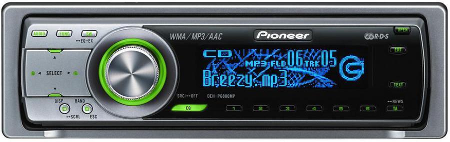 Pioneer DEH-P 6800 MP Autoradio: Tests & Erfahrungen im HIFI-FORUM