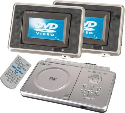 clatronic dvd 655 tragbarer dvd player tests. Black Bedroom Furniture Sets. Home Design Ideas