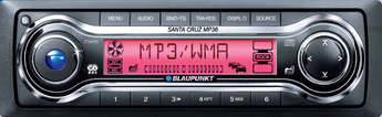 Produktfoto Blaupunkt Santa CRUZ MP 36