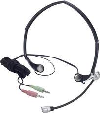 Produktfoto Verbatim 41683 Cuffia Stereo Microfono Ripieghevole
