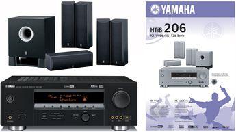 Produktfoto Yamaha HTIB-206 (RX-V459/NS-M125/NS-C125/YST-SW011