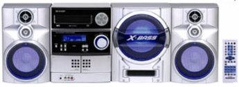 Produktfoto Sharp CD-SW300H*