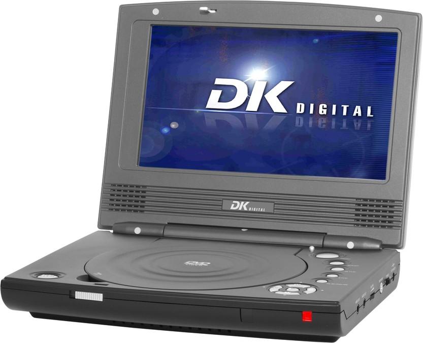 dk digital dvp 188 tragbarer dvd player tests. Black Bedroom Furniture Sets. Home Design Ideas