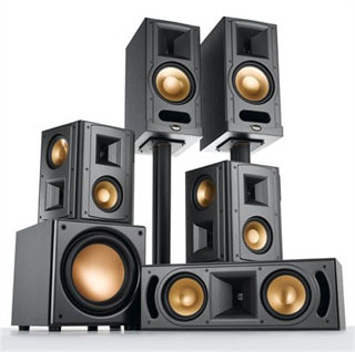 klipsch rb 81 surround lautsprechersystem tests. Black Bedroom Furniture Sets. Home Design Ideas