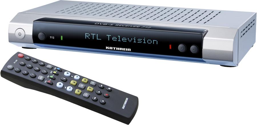 kathrein ufs 712 satelliten receiver digital tests. Black Bedroom Furniture Sets. Home Design Ideas