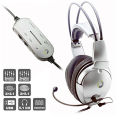 Produktfoto Point-Of-View 5.1 Gaming Headphone
